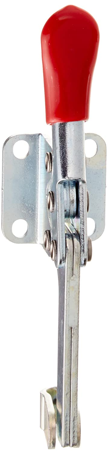 DE STA CO 215-S Horizontal Handle Hold Down Action Clamp Solid Bar and Flanged Base DE-STA-CO INDUSTRIES