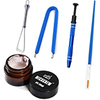 BEHEY Keyboard Lube Kits 5PCS Contain GPL 205G0 Grease 0.17oz, Stem Holder Keycap Puller Lube Brush, and Switch Puller…