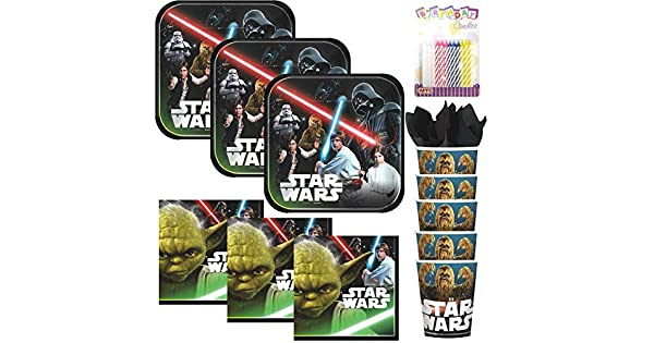 Amazon.com: Lobyn Value Pack Classic Star Wars - Servilletas ...