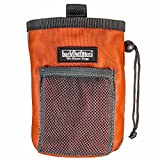 barkOutfitters Dog Treat Pouch - Bag Can Carry Snacks and Toys - Professional Quality Pouch Ava - by (Orange)