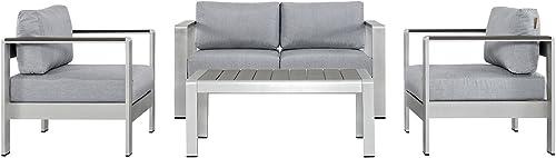 Keter Resin Wicker Patio Furniture Set