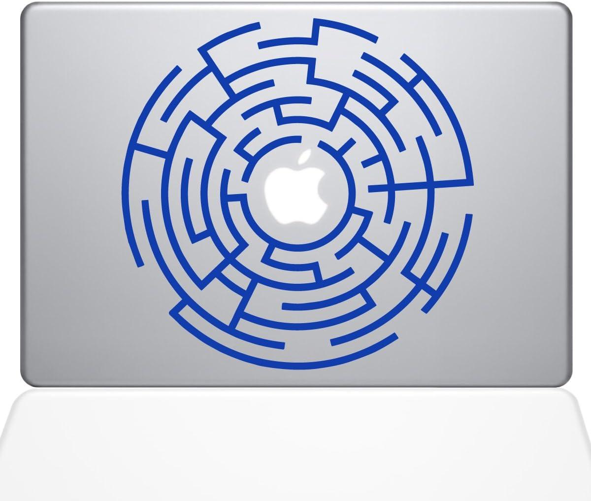 The Decal Guru Circle Maze Runner MacBook Decal Vinyl Sticker - 13