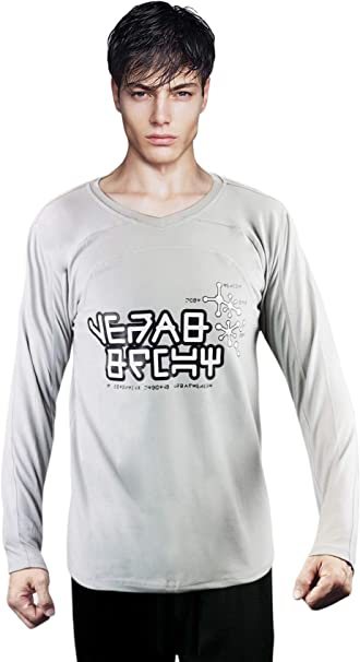 MARVEL Boys Guardians of The Galaxy Vol.2 Star Lord T Shirt Hoodie Size:7-8Y Grey Sports Grey SpGry 7-8 Years