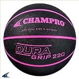 Champro Rubber Basketball, Optic Pink, One Size