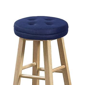Amazon.com: Baibu – Funda para taburete de bar redonda ...