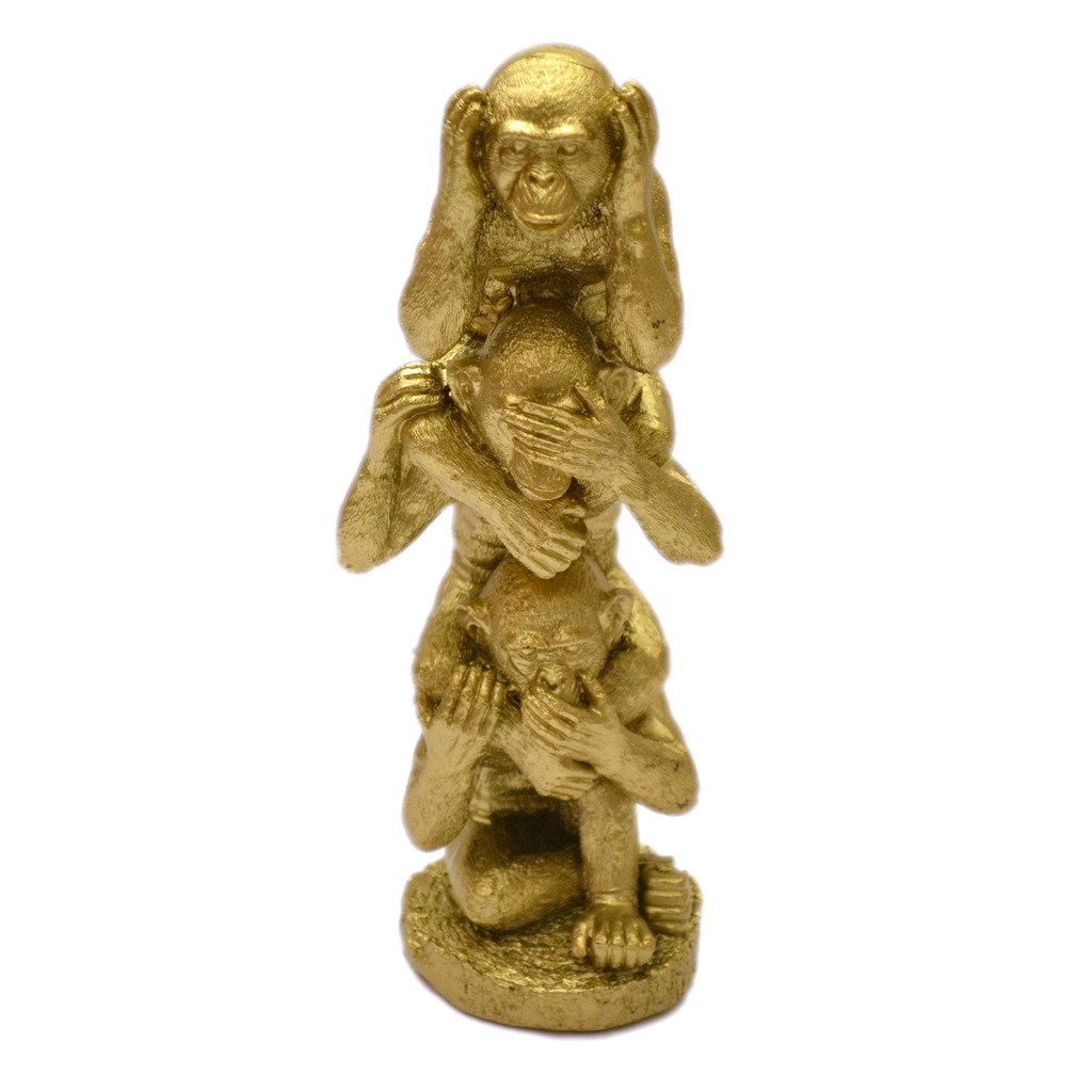 Sagebrook Home 13724-01 Ceramic Vase 11.5 x 11.5 x 16.75 Inches Gold Fleck