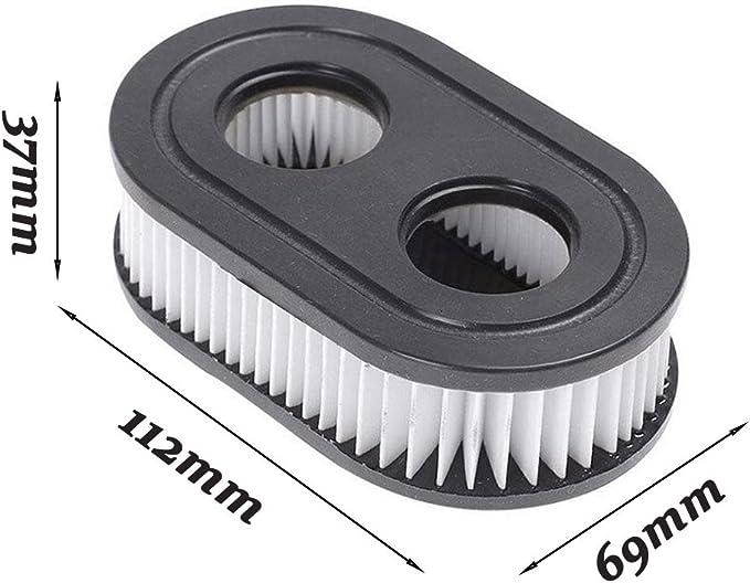 2ps Air Filter for Briggs /& Stratton Replaces Briggs # 798452 Fits Models 09P702 9//10 HOV 140CC 500-500 E /& EX Series Walks