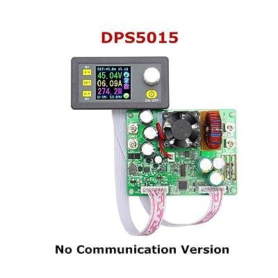 Bomcomi DPS5015 50V 15A Tension Courant Constant abaisseur Module d'alimentation Buck convertisseur de Tension Voltmètre LCD Cuisine & Maison
