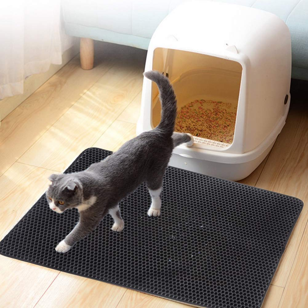 45x60 Pet mat cat bed dog bed cushions washable padded pet cage moisture pad soft furry pet moisture-proof mattress,45x60