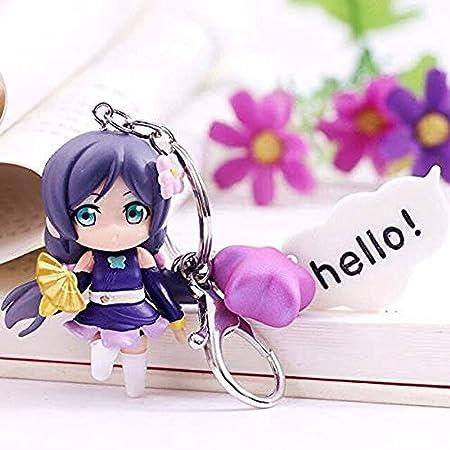 WXxiaowu Anime Love Live Cute Kawaii Llavero de PVC Figura ...