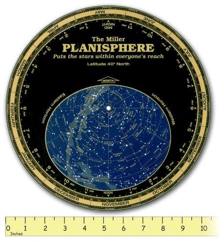 Miller Planisphere Star Finder, Size Large Model 30 degree