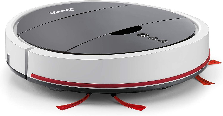 Vileda VR 102 - Robot aspirador de gran autonomía (1h 30 de ...