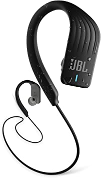 Amazon Com Jbl Endurance Sprint Wireless Headphones Bluetooth Sport Earphones With Microphone Waterproof Up To 8 Hours Battery And Quick Charge Works With Android And Apple Ios Black Electronics