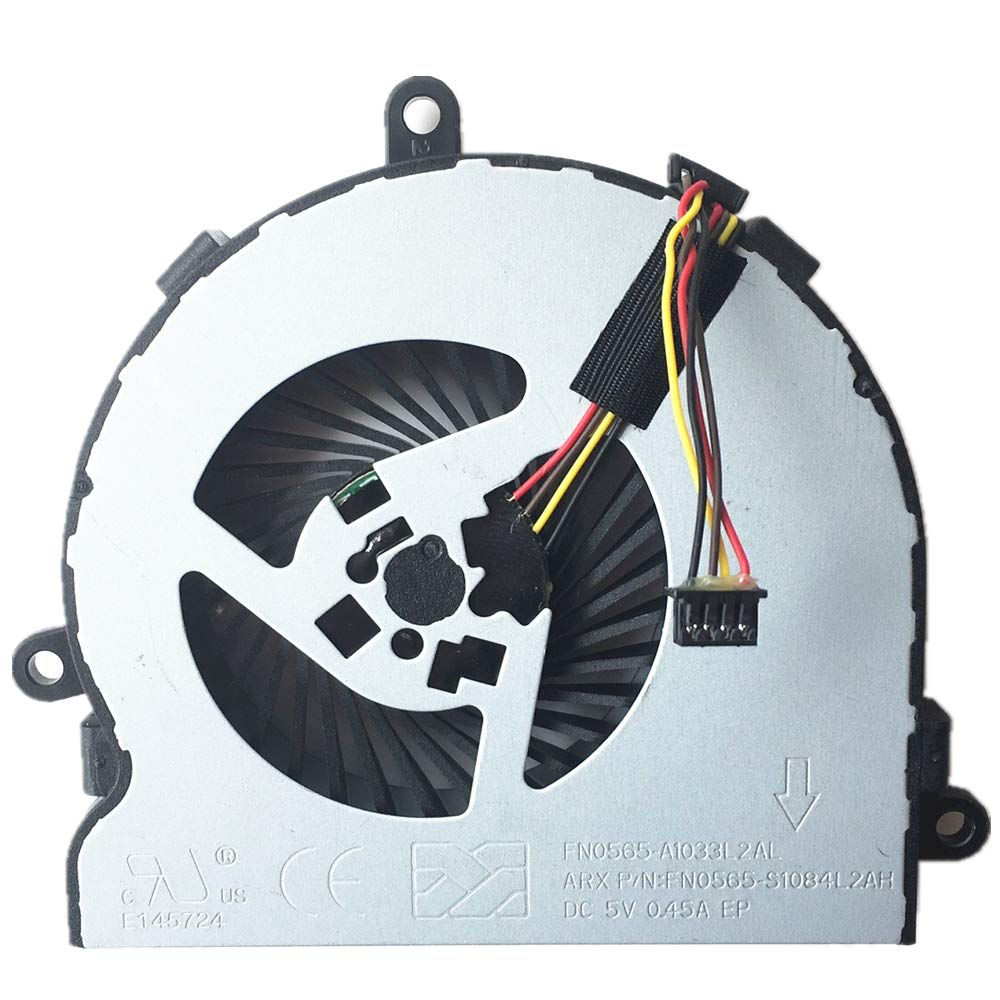 Laptop CPU Cooling Fan Work with HP 250 G4 255 G4, Pavilion 15-BA 15-BS 15-BE 15-BF 15-BD 15-BW Series Laptop P/N: SPS-813946-001