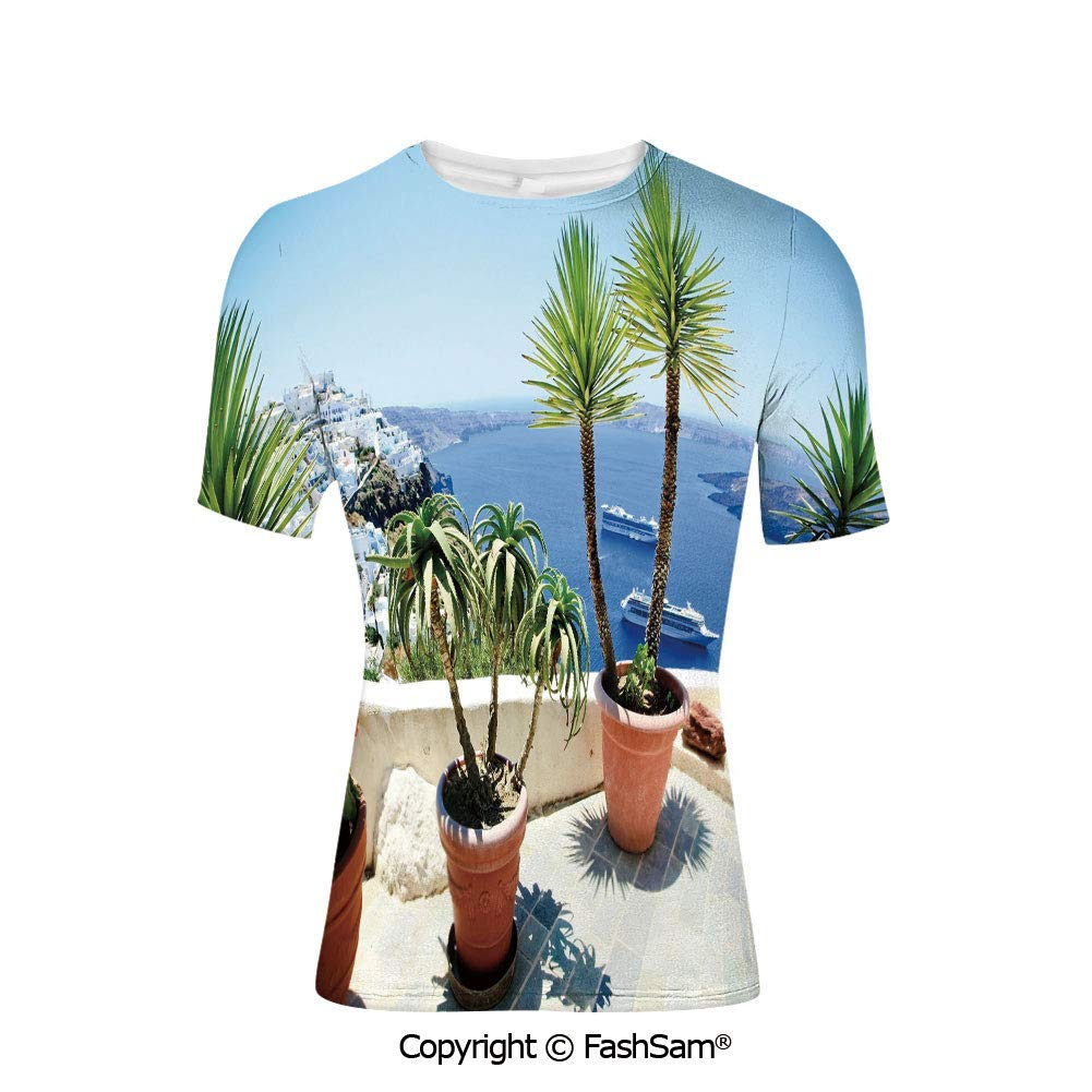 Fashion Printed T-Shirts Vacation Endless Horizon Refreshing Romance Honeymoon H