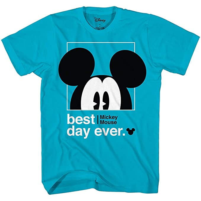 ac51ce667 Disney Mickey Mouse Best Day Ever Toddler Youth Juvy Kids T-Shirt (2T,