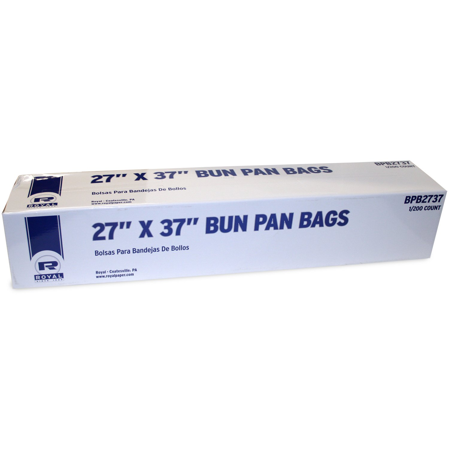 Amazon.com: Royal High Density Bun Pan Bags, 27