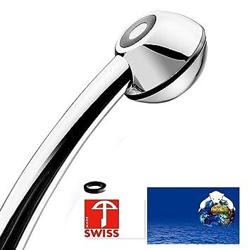Berühmt Handbrause SwissClima BLACK WOW! geeignet für Durchlauferhitzer OL16