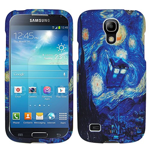 [Starry Night TARDIS Doctor Who Blue Police Box Inspired SamSung Galaxy S4 mini i9192/i9198 Nice Durable Hard Case] (Easy Movie Inspired Costumes)