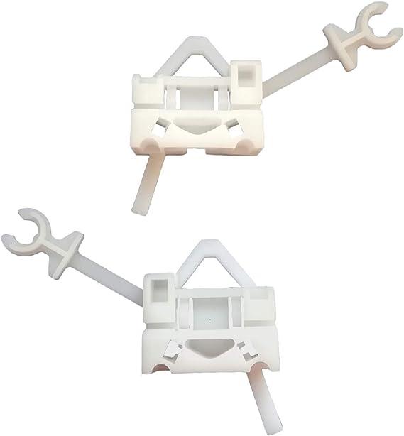 Autoparts 2X Fensterheber reparatursatz Clips Vorne 2997195