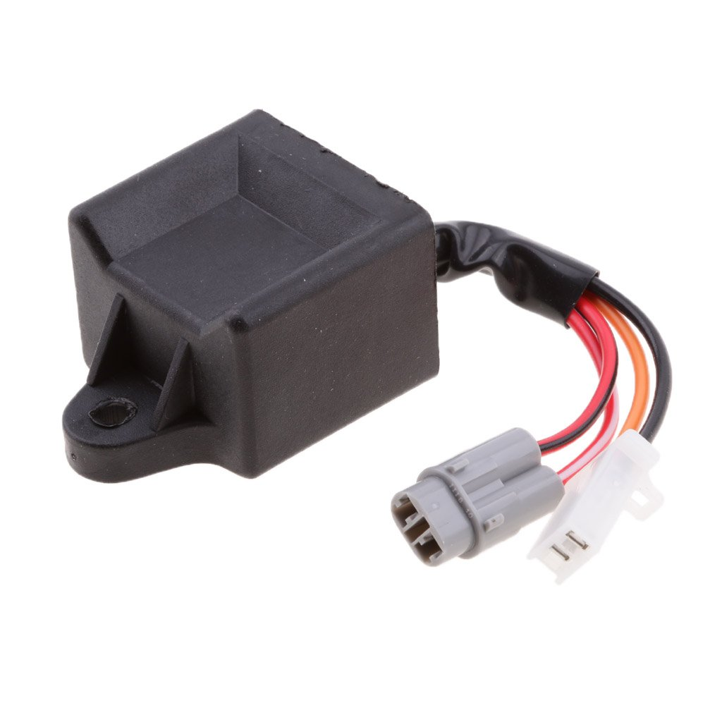 MonkeyJack Motorcycle Dirt Bike CDI Box Ignition Coil Unit Module for Yamaha PW50 PW 50