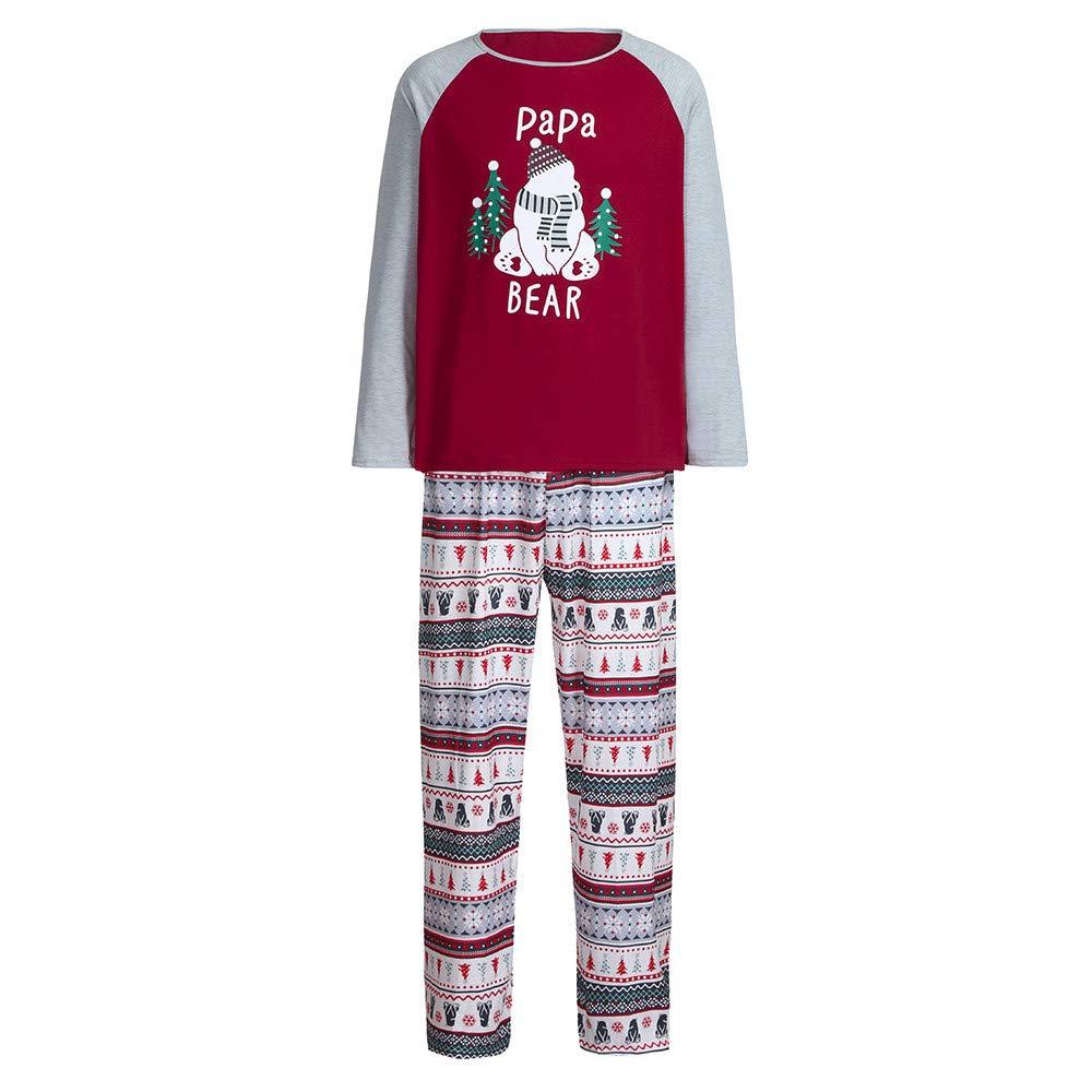 Amazon.com  Gufenban Chrismas Family Pajamas 3432af87b