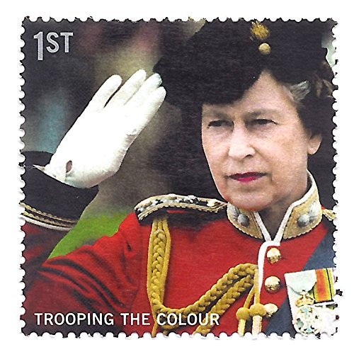 Great Britain (UK) 2005 Postage Stamp 1st Class Postage QEII Saluting Trooping The Colour Scott #2289 ()