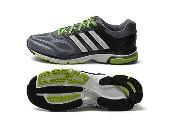 Adidas Supernova sequence 6 men's grey mesh running trainers M22919 (UK  12.5 EU ...