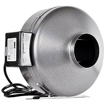 iPower GLFANXINLINE6 High CFM Duct Inline Fans