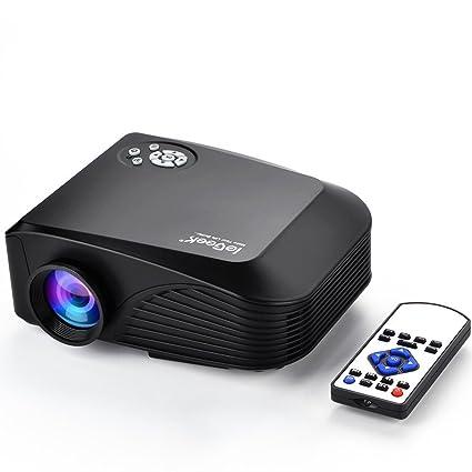 ieGeek H88 Video proyector portátil LCD 1080P 1200 Lumens, mini ...