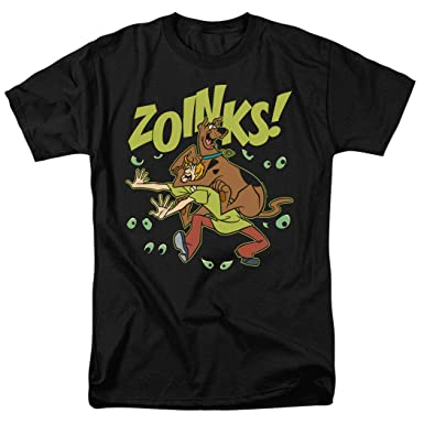 d6682007 Amazon.com: Scooby-Doo and Shaggy Zoinks! T Shirt & Stickers: Clothing
