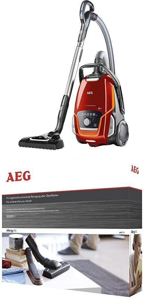 AEG VX9 Performance Aspiradora con bolsa especial mascotas, color ...