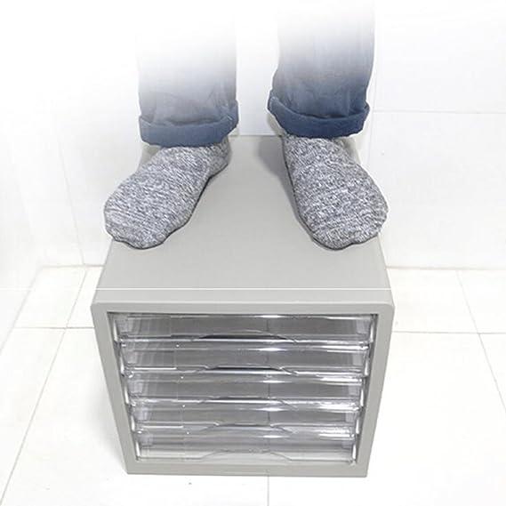 Amazon.com: File Cabinets Desktop 5-Layer Plastic Office Storage A4 ...