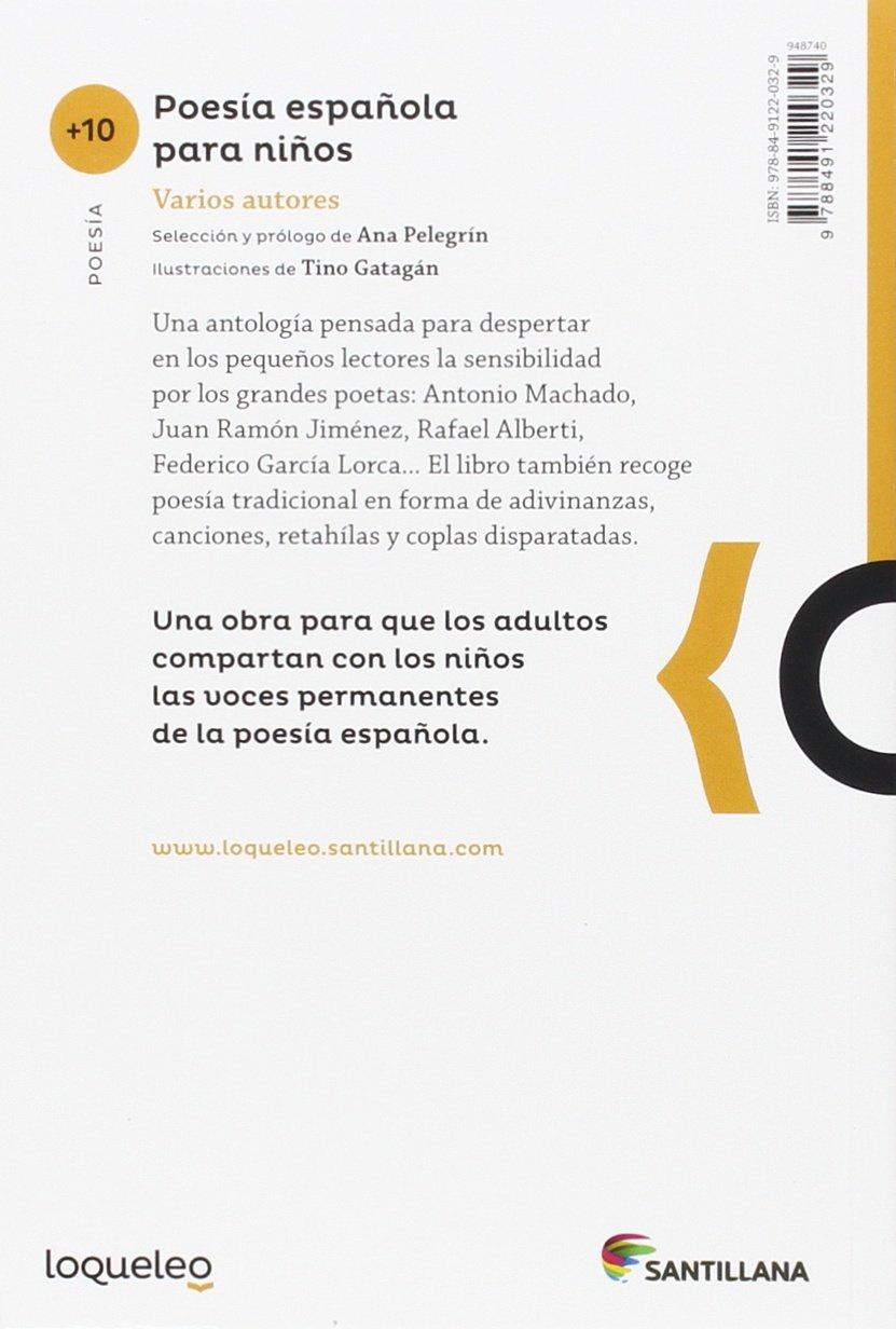 Poesía española para niños: Amazon.es: Pelegrin, Ana Maria: Libros