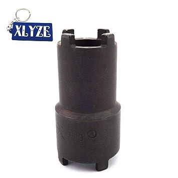 XLYZE 20mm 24mm Herramienta Embrague Aceite Filtro Tuerca de Bloqueo Tuerca de la Llave de tuerca para Pit Dirt Bikes: Amazon.es: Coche y moto