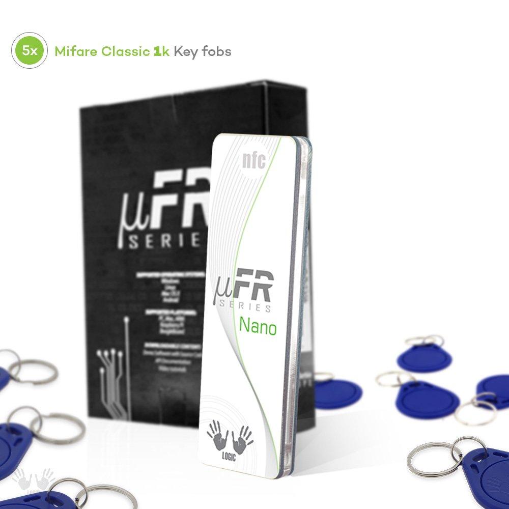 Amazon com: uFR Nano RFID NFC Tag and Card Reader Writer - 13,56 MHz
