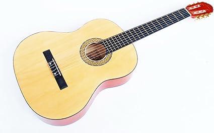 Cherrystone 141 - Guitarra de concierto clásica 4/4, natural ...