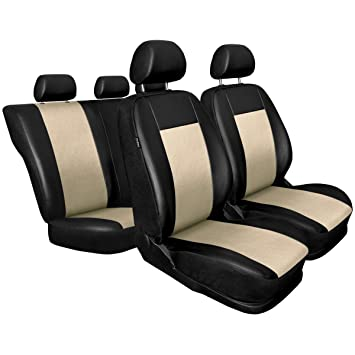 5902538294652 CM-B Universal Car Seat Covers Set Faux Leather