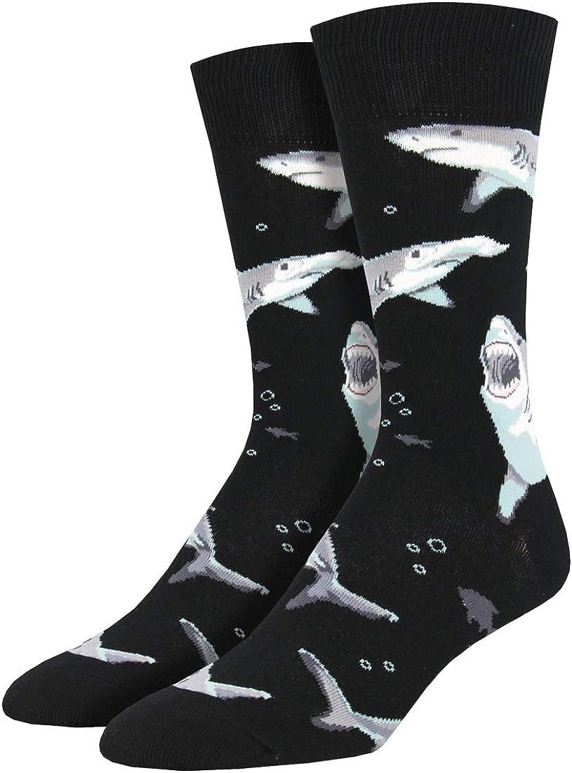 Socksmith Men's Shark Chums