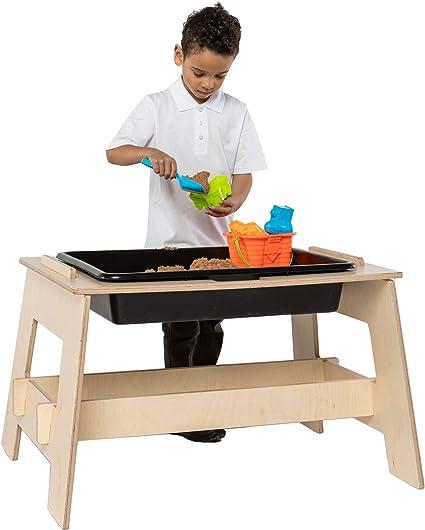 Wonderwall - Mesa de actividades de madera para arena y agua ...