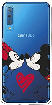 Funda para Samsung Galaxy A7 2018 Oficial de Disney Mickey Y ...
