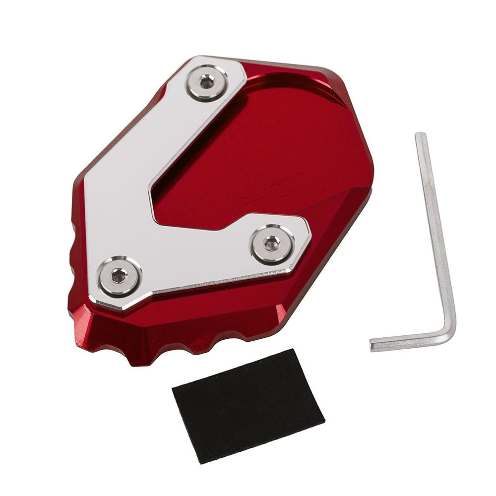 New Motorcycle Accessories Aluminum Kick stand Enlarger Plate Extension Pad for R1200GS LC 2013-2018 Nawenson