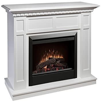 Amazon.com: Dimplex Caprice Free Standing Electric Fireplace in ...