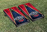 New Orleans Pelicans NBA Basketball Regulation Cornhole Game Set Triangle Weathered Version