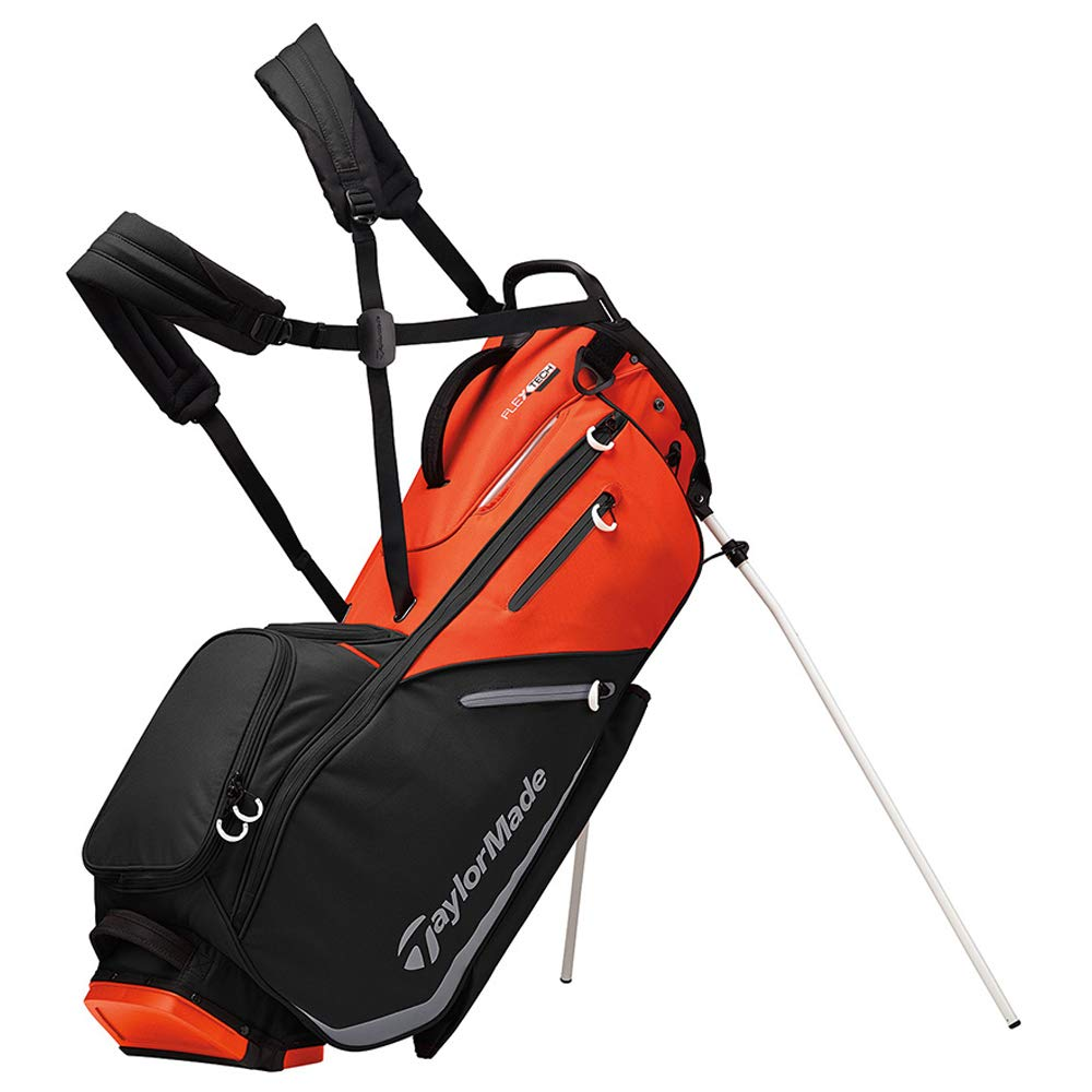 TaylorMade 2019 Flextech Stand Golf Bag, Black V2 by TaylorMade (Image #1)