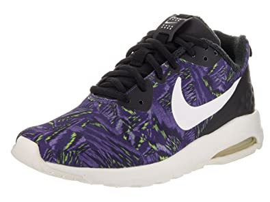 Nike Women's Air Max Motion Lw Print Dark Purple Dust/Sail/Black Running  Shoe
