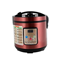 6L Black Garlic Fermenter,Full Automatic Black Garlic Maker Garlic Fermentation Machine (Purple)