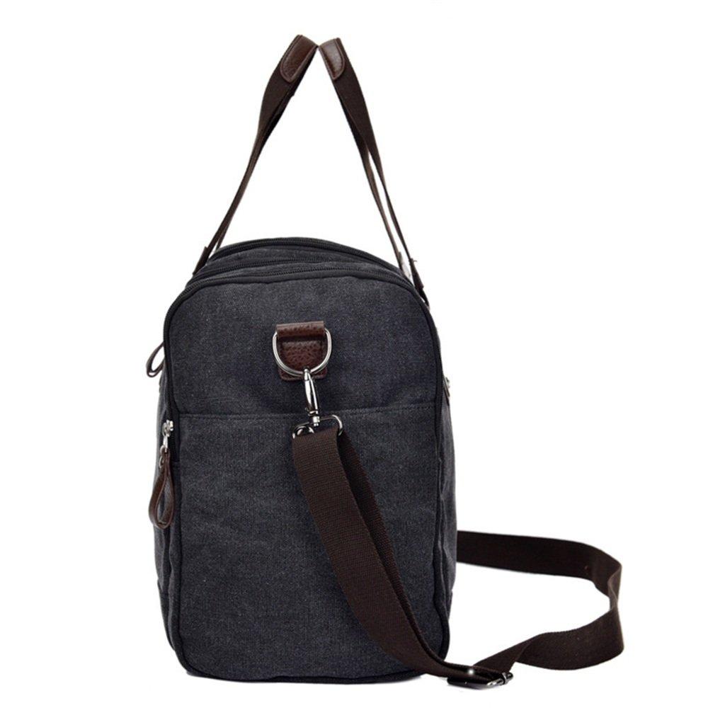 Travel Duffel Canvas Bag Hand Bag Business Casual Canvas Large Single Shoulder Bag Travel Luggage Bag Fashion Satchel Gym Sports Luggage Bag