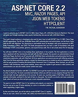 ASP NET Core 2 2 MVC, Razor Pages, API, JSON Web Tokens & HttpClient