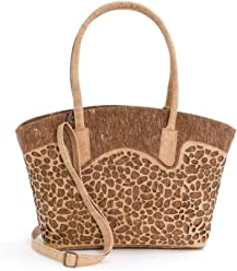 Artelusa Vegan Cork shoulder Bag for Women Handmade in Portugal